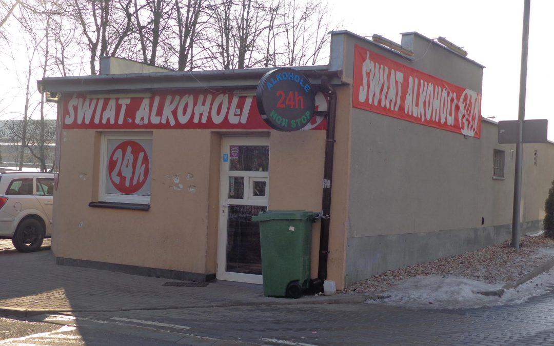 Problemem rosnącej liczby całodobowych sklepów z alkoholem